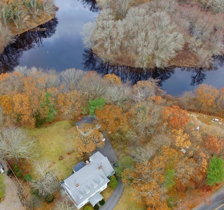 Classic Home for Entertainment and Outdoor Living in Dedham, MA