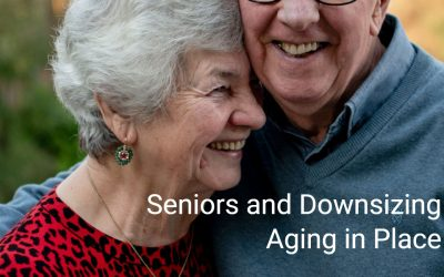 Seniors and Downsizing Aging in place
